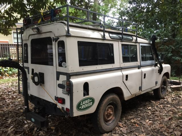 Vintage 1980 Land Rover Series 3 109 Quot Safari Wagon Pre