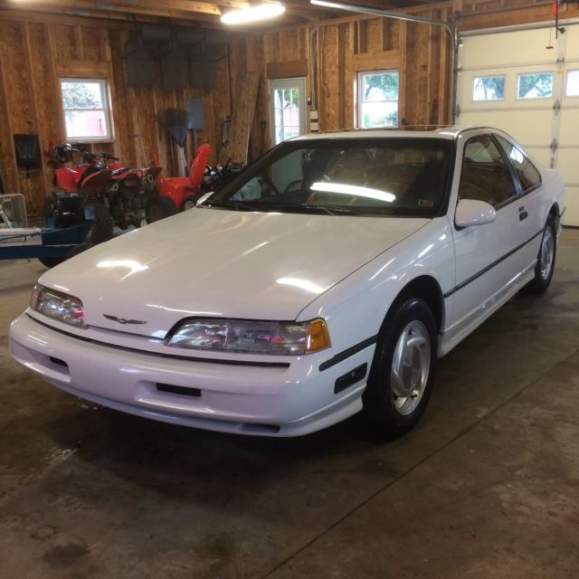 Vintage 1992 Ford Thunderbird Super Coupe Sc Immaculate All Stock