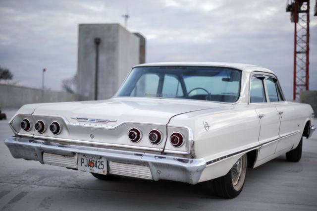 vintage classic antique 1963 63 60s chevrolet chevy impala car. Black Bedroom Furniture Sets. Home Design Ideas