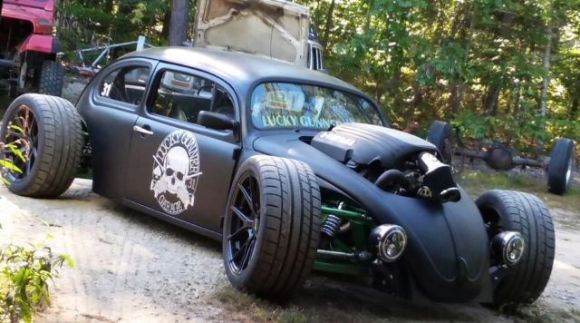 volkswagen bug custom build hot rod rat rod pro touring drift car beetle chopped
