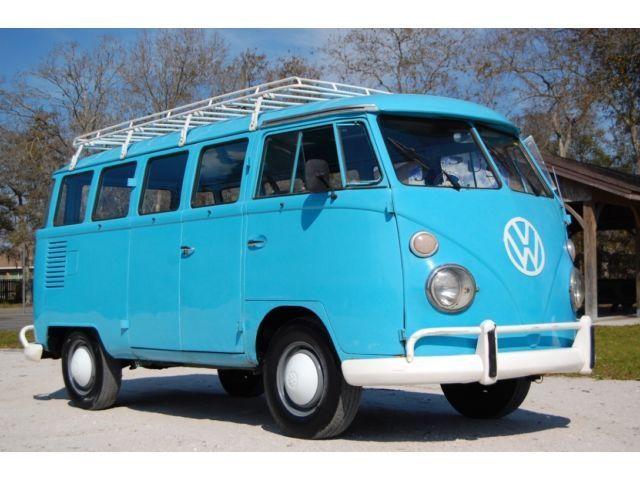 Volkswagen split windshield 15 window vw bus transporter for 15 window bus for sale