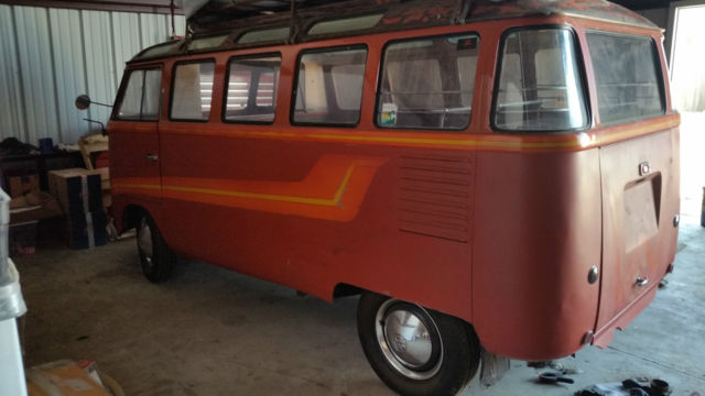 Vw Barndoor 23 Window Deluxe Samba