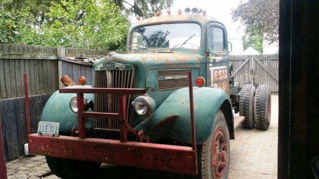 White Motor 1947 White Motor Co Wb 26 Super Power Truck W