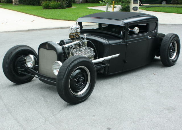 Wild custom channeled build 1930 ford model a ratrod for 1930 ford 3 window coupe