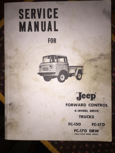 Willy Jeep Pickup Fc 170 1959 Hard To Find
