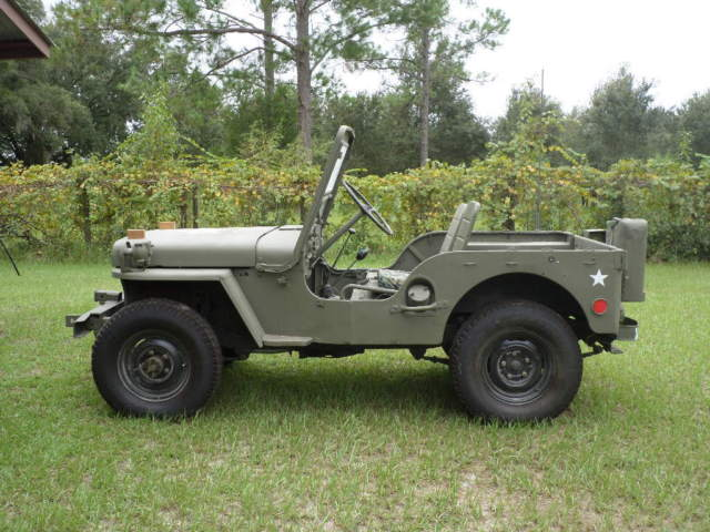 Willys 1951 M38 Military Jeep