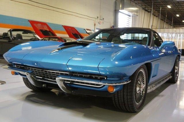 World's Best Custom Cars >> World's best retro Vette, LS7 7.0L V8, Gorgeous Marina Blue