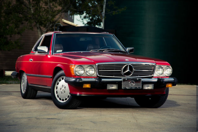 Wow beautiful 1986 mercedes benz 560sl low miles for Mercedes benz georgetown tx
