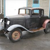 1932 ford coupe hot rod project for 1932 ford 5 window coupe project for sale