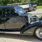1936 Chevy Standard Coupe Chassis