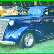1938 Chevrolet Master Deluxe,327,5-Speed Automatic,350 Turbo,49242 miles