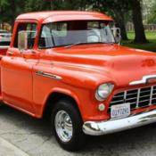 57 Chevy 3100 Task Force NAPCO 4x4 Pickup Truck / No Engine for sale