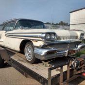 1958 OLDSMOBILE SUPER 88 ROCKET BARN FIND!!!! HOTROD LOWRIDER MUSCLE