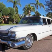 1959 Cadillac S75 Fleetwood Limo
