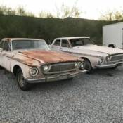 1962 Dodge Dart Fire Department Chief Car New Mexico Barn Find Nyfd