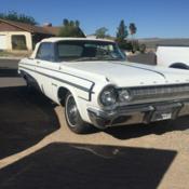 1964 Dodge Dart Gt 2 Door Hardtop 50th Anniversary 99