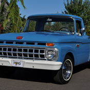 1965 ford f100 352 ic v8 long bed twin i beam custom cab. Black Bedroom Furniture Sets. Home Design Ideas