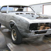 1970 chevrolet camaro sport coupe rolling chassis with interior solid no rust. Black Bedroom Furniture Sets. Home Design Ideas