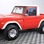 1968 68 Ford Half Cab Bronco Rotissorie Restored Updated