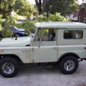 1968 Nissan Patrol KL60 Hardtop 4 0L Original California