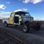1966 Ford Crew Cab F250 4x4 21 000 Original Miles Project Truck