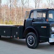 1958 ford c800 vintage cab over car hauler ramp truck coe for Mercedes benz c550 for sale
