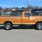 1977 FORD F250 HIGHBOY TRUCK 4X4 GREEN NICE SOLID TRUCK F 250 F 350 8 FOOT BED