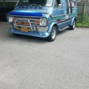 1977 Custom Dodge Van