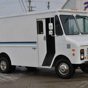 1955 chevrolet grumman olson step van food truck box truck shop van. Black Bedroom Furniture Sets. Home Design Ideas