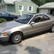 1992 Acura Legend LS Coupe 2 Door 32L RARE 5 SPEED MANUAL HTF VHTF NY