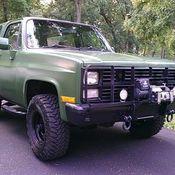 Army Surplus Military Chevrolet K5 Blazer M1009 CUCV 4x4 truck