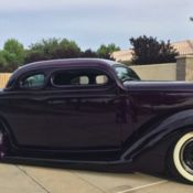 Jesse James Personal 1936 Ford 5 Window Custom WCC Coupe